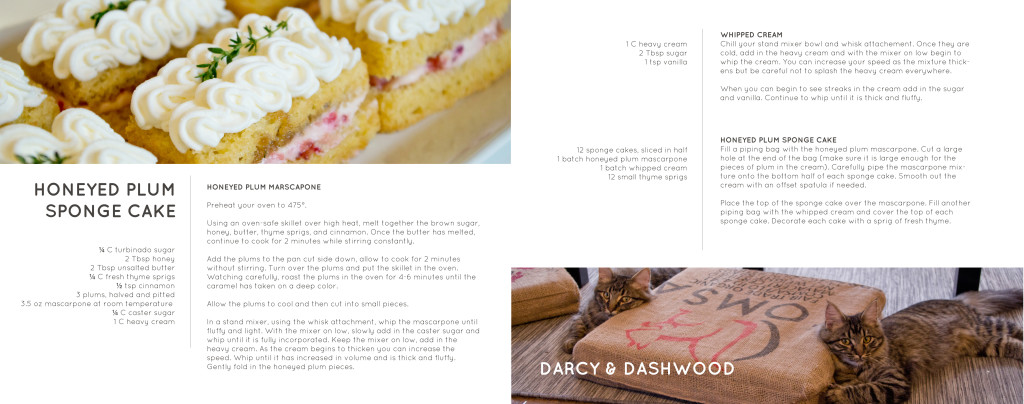 Mauhaus cat cafe lounge recipe book pre orders honeyed plum sponge cake book details forumfinder Choice Image